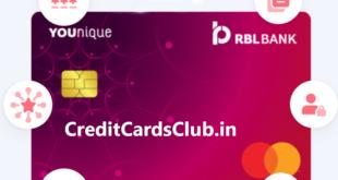 RBL YOUnique Credit Card
